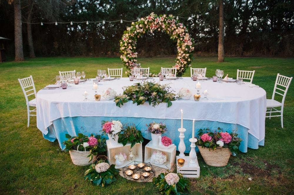 Las flores son tendencia en las bodas actuales